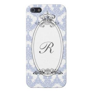 カスタマイズ可能なダマスク織の王冠 iPhone SE/5/5sケース