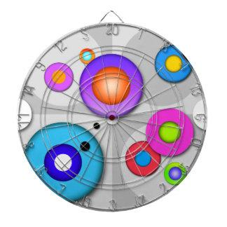 カスタマイズ可能なダート盤のポップアートの円 ダーツボード