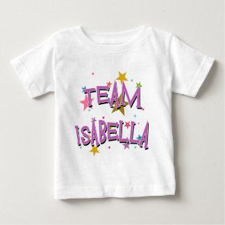 カスタマイズ可能なチームイザベラ ベビーTシャツ
