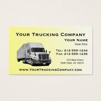 カスタマイズ可能なトラック運送の名刺 名刺