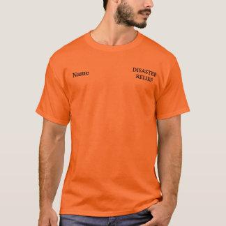 カスタマイズ可能なトルネードレリーフ、浮き彫りのワイシャツ Tシャツ