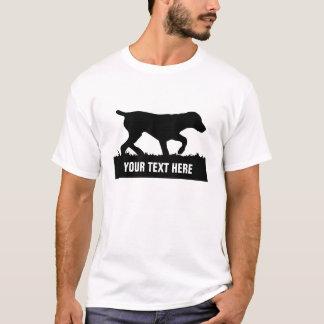 カスタマイズ可能なドイツShorthairedポインターのティー Tシャツ