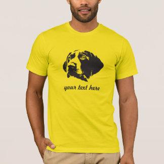 カスタマイズ可能なドイツShorthairedポインターのTシャツ Tシャツ
