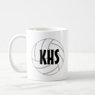 カスタマイズ可能なバレーボールのコーヒー・マグ コーヒーマグカップ