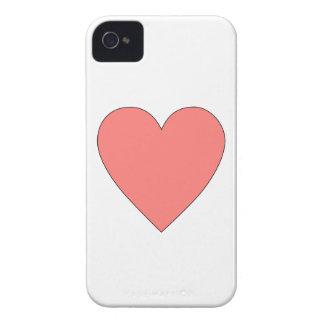 カスタマイズ可能なピンクのハート Case-Mate iPhone 4 ケース