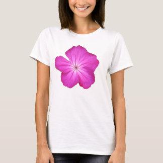 カスタマイズ可能なピンクの花のTシャツ Tシャツ