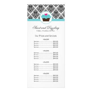 カスタマイズ可能なベーカリーの値段表の棚カード ラックカード