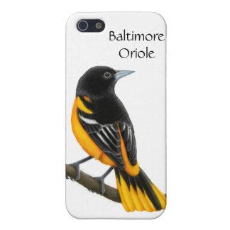 カスタマイズ可能なボルティモア・オリオールズ鳥のiPhoneの場合 iPhone SE/5/5sケース