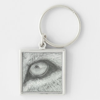 カスタマイズ可能なライオンの目| キーホルダー