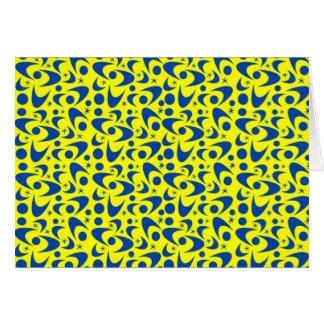 カスタマイズ可能なレトロのブーメラン カード