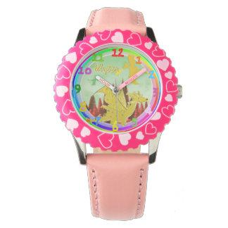 カスタマイズ可能な一流のAlyssaが付いているかわいいドラゴン 腕時計
