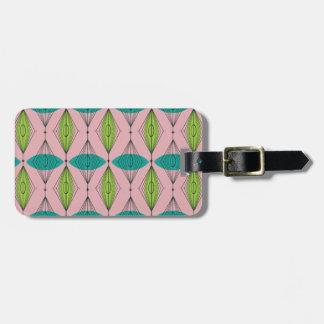 カスタマイズ可能な原子ピンクのOgeeの荷物のラベル ラゲッジタグ