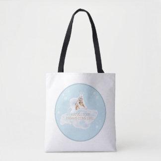 カスタマイズ可能な夢の天使のトートバック トートバッグ