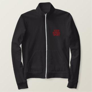 カスタマイズ可能な学校のスポーツジャケット 刺繍入りジャケット