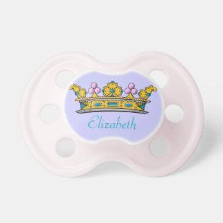 カスタマイズ可能な小さく王室のなプリンセス おしゃぶり