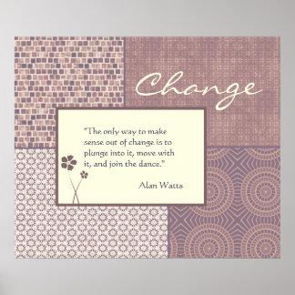 カスタマイズ可能な引用文ポスターを変えて下さい ポスター