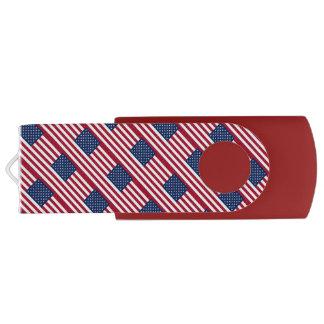 カスタマイズ可能な愛国心が強いアメリカ人米国の旗 USBフラッシュドライブ