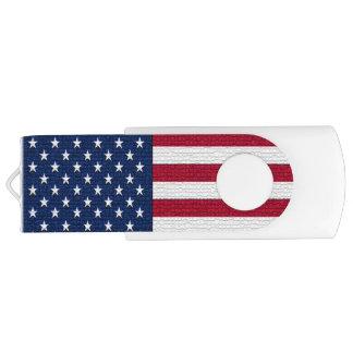 カスタマイズ可能な愛国心が強い米国の米国旗 USBフラッシュドライブ