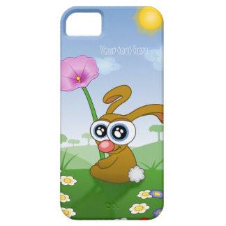 カスタマイズ可能な携帯電話の箱-分野のウサギ iPhone SE/5/5s ケース