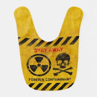 カスタマイズ可能な放射区域の警告 ベビービブ