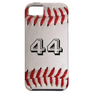 カスタマイズ可能な数を用いる野球 iPhone 5 カバー