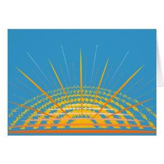 カスタマイズ可能な明るい  グリーティングカード