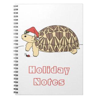 カスタマイズ可能な星のカメのノート ノートブック