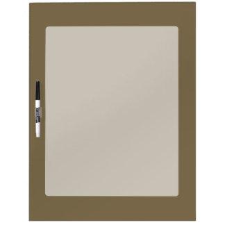 カスタマイズ可能な暗灰色のコーヒー色の装飾 ホワイトボード