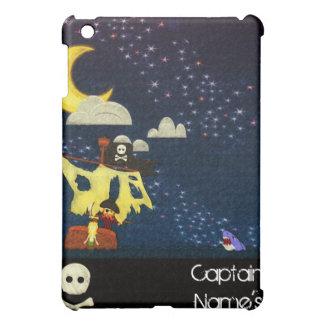 カスタマイズ可能な海賊スケッチのiPadの場合 iPad Miniケース