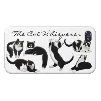 カスタマイズ可能な猫の囁くもののiPhoneの場合 iPhone 4 Case