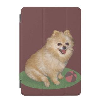 カスタマイズ可能な球を持つポメラニア犬犬 iPad MINIカバー