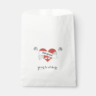 カスタマイズ可能な白書の結婚式の引き出物のバッグ- フェイバーバッグ