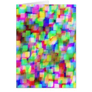 カスタマイズ可能な立方体 カード