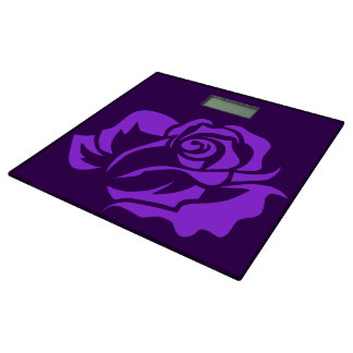 カスタマイズ可能な紫色のバラの開花 体重計