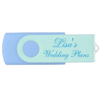カスタマイズ可能な結婚式の計画USBドライブ USBフラッシュドライブ
