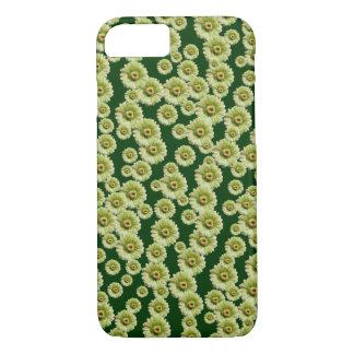 カスタマイズ可能な緑のガーベラのデイジー iPhone 8/7ケース