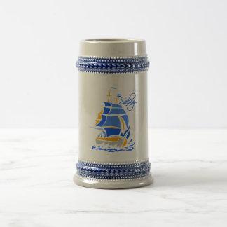 カスタマイズ可能な航行のマグ-スタイル及び色を選んで下さい ビールジョッキ