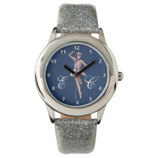 カスタマイズ可能な船員の衣裳のバレリーナ 腕時計