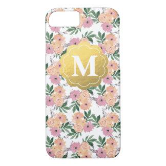 カスタマイズ可能な花の場合 iPhone 7ケース