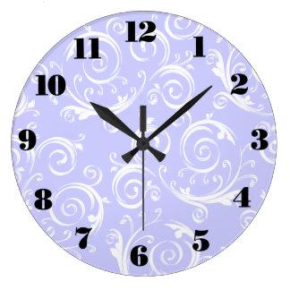 カスタマイズ可能な華麗さの渦巻及びカール ラージ壁時計