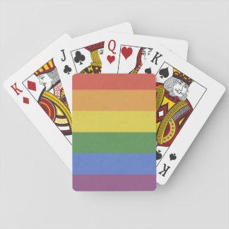 カスタマイズ可能な虹のトランプ トランプ