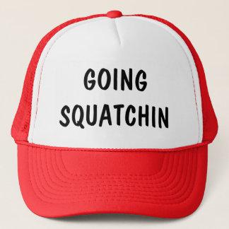 カスタマイズ可能な行くSquatchin キャップ