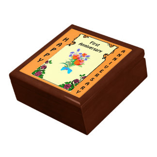 カスタマイズ可能な記念日のギフト用の箱、posey ギフトボックス