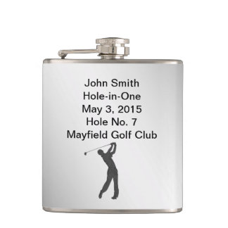 カスタマイズ可能な記念穴1のゴルフ フラスク