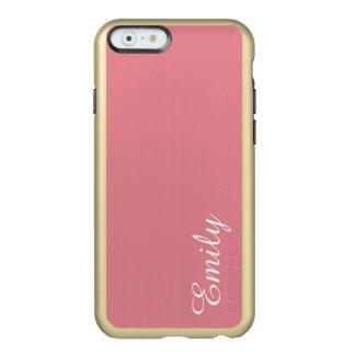カスタマイズ可能な軽いいちごのピンク INCIPIO FEATHER SHINE iPhone 6ケース