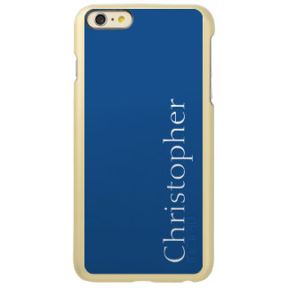 カスタマイズ可能な軽い濃紺 INCIPIO FEATHER SHINE iPhone 6 PLUSケース