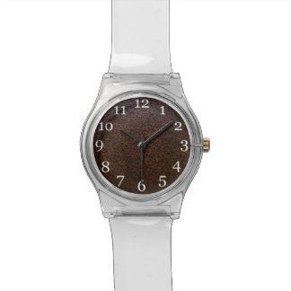 カスタマイズ可能な錆の質の基層 腕時計