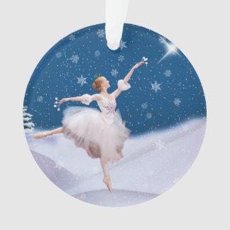 カスタマイズ可能な雪の女王のバレリーナ オーナメント