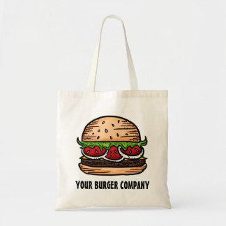 カスタマイズ可能な食糧ユーモアのハンバーガーのバッグ トートバッグ
