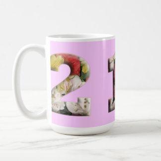 カスタマイズ可能な21のマイル標石のマグ コーヒーマグカップ